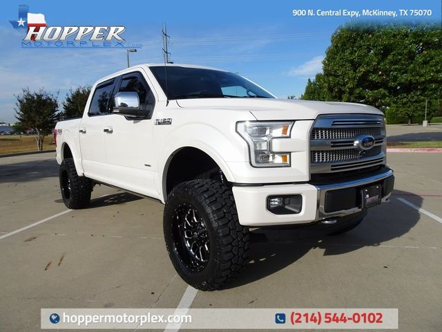 2016 Ford F-150 Platinum Lift kit, Custom Wheels and Tires