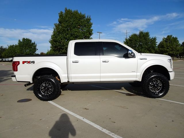 2016 Ford F-150 Platinum Lift kit, Custom Wheels and Tires in McKinney, Texas 75070