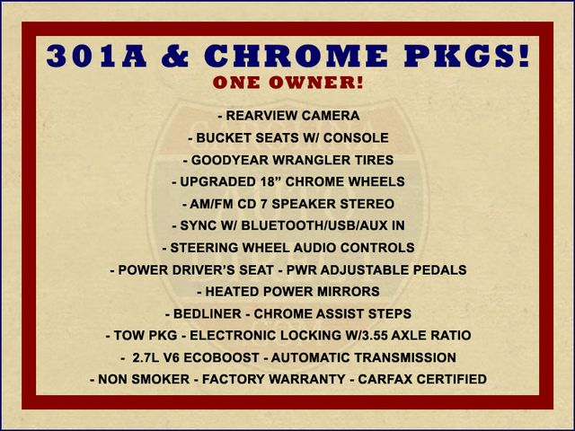 2016 Ford F-150 XLT SuperCrew 4x4 - 301A & CHROME PKGS! Mooresville , NC 1