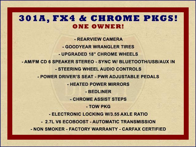 2016 Ford F-150 XLT Crew Cab 4x4 FX4 - 301A & CHROME PKGS! Mooresville , NC 1