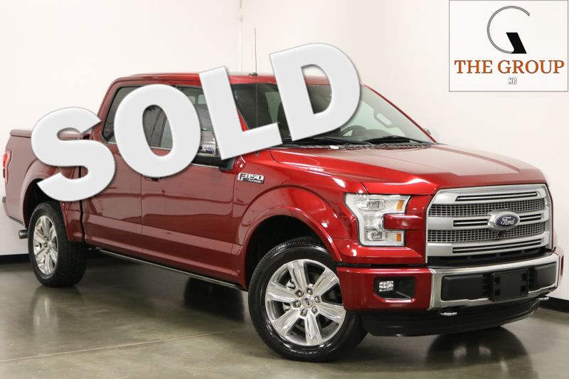 2016 Ford F-150 4X4 Platinum  city NC  The Group NC  in Mansfield, NC