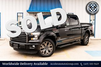 2016 Ford F-150 ONE OWNER CLEAN CARFAX BLACK TRIM DARK WHLS in Rowlett