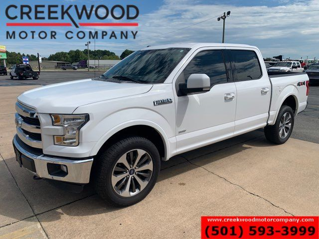 2016 Ford F-150 Lariat 4x4 Eco Boost White 20s New Tires 1 Owner