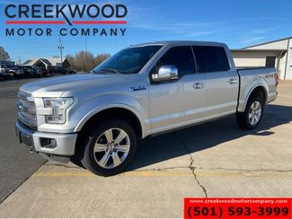 2016 Ford F-150 Platinum 4x4 5.0L 1 Owner Nav Leather Chrome 20s in Searcy, AR 72143