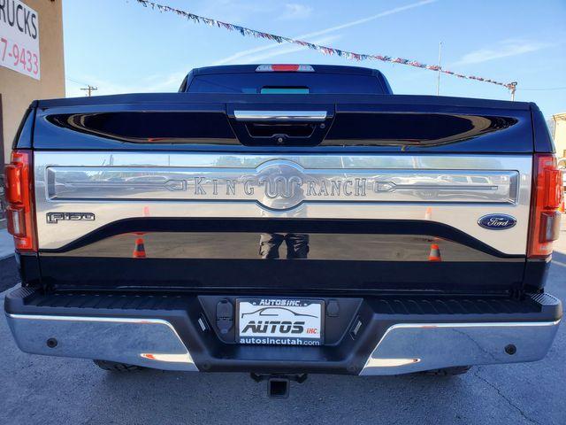 2016 Ford F-150 Super Crew King Ranch 4x4 in American Fork, Utah 84003