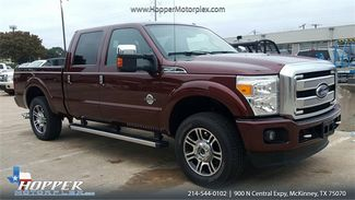 2016 Ford F-250SD Platinum in McKinney Texas, 75070