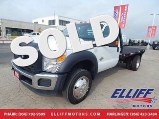 2016 Ford Super Duty F-450 FLAT BED XL in Harlingen, TX 78550
