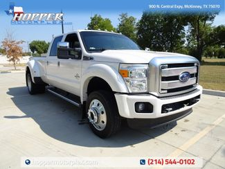 2016 Ford F-450SD Platinum DRW in McKinney, Texas 75070