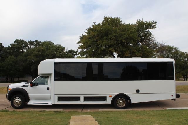 2016 Ford F-550 30 Passenger Champion Defender Shuttle Bus, Luggage Area in Irving, Texas 75060