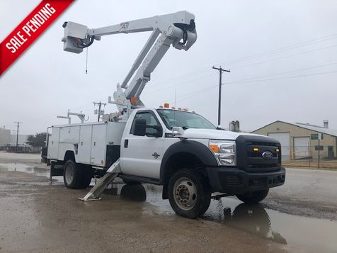 2016 Ford F-550 4X4 ARTICULATING & TELESCOPIC 42' ETI W/ MATERIAL HANDLER in Fort Worth, TX