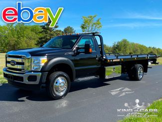 2016 Ford F-550 Jerr-Dan 2-CAR V10 ROLLBACK TOW TRUCK LOW MILES MINT in Woodbury, New Jersey 08093