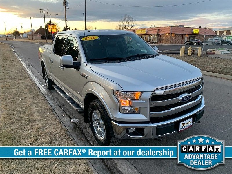 2016 Ford F150 4WD SuperCrew Lariat 6 12  city MT  Bleskin Motor Company   in Great Falls, MT