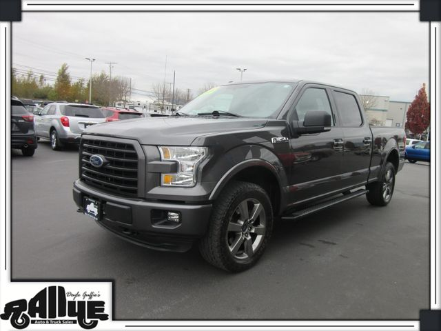 2016 Ford F150 XLT Sport C/Cab 4WD in Burlington, WA 98233