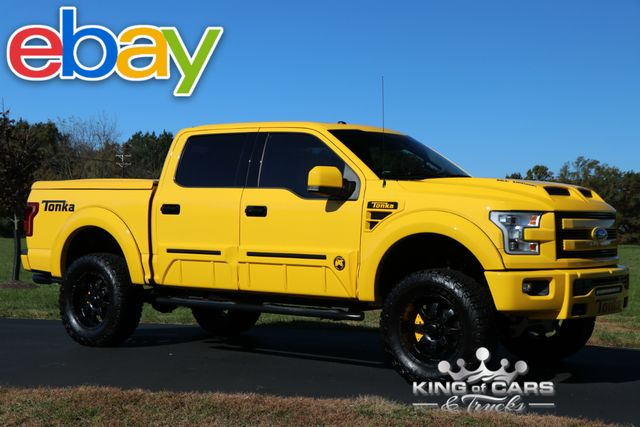 2016 Ford F150 Crew Tonka EDITION 700HP SUPERCHARGED 5.0 4X4 1K MILES