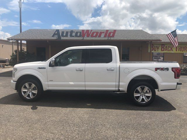 2016 Ford F150 Platinum 4X4 in Marble Falls TX, 78654