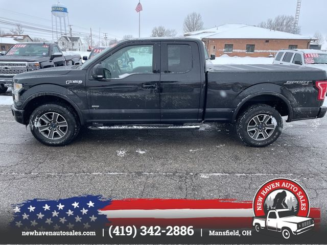 2016 Ford F150 SUPER CAB 4x4 sport