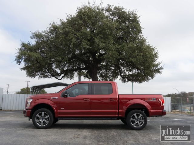 2016 Ford F150 Crew Cab XLT FX4 EcoBoost 4X4