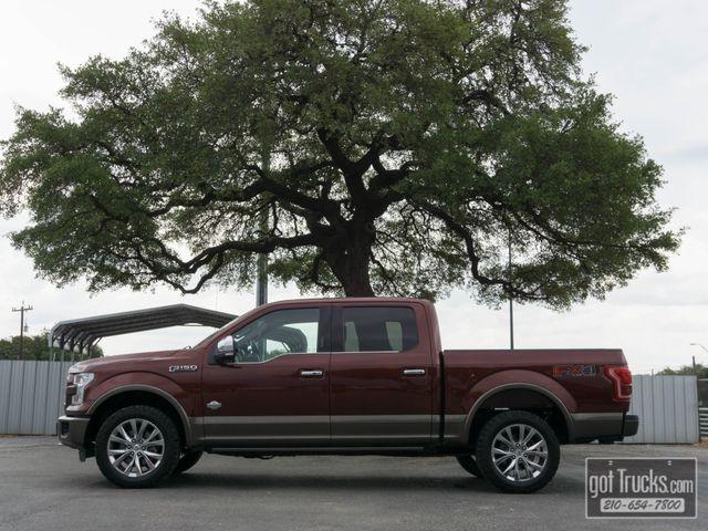 2016 Ford F150 Crew Cab King Ranch FX4 5.0L V8 4X4