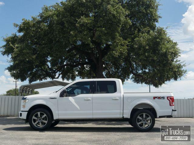 2016 Ford F150 Crew Cab XLT FX4 5.0L V8 4X4 in San Antonio Texas, 78217