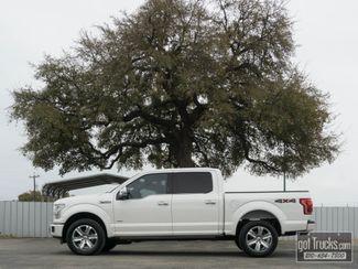 2016 Ford F150 Crew Cab Platinum EcoBoost 4X4 in San Antonio, Texas 78217