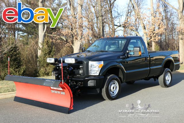 2016 Ford F250 4wd Reg Cab 6.2L V8 12K MILES 1-OWNER 4X4 WESTERN PLOW TRUCK