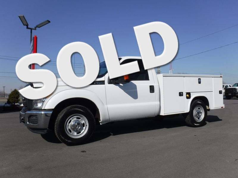 2016 Ford F250 Regular Cab 2wd With New 8 Knapheide Utility Bed