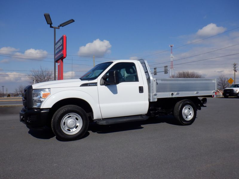2016 Ford F250 Regular Cab 8' Aluminum EBY Flatbed 2wd in Ephrata PA