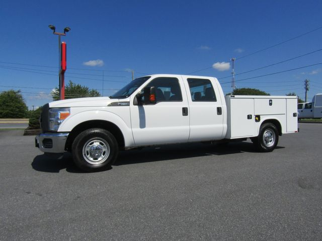 2016 Ford F250 Crew Cab 2wd with New 8' Knapheide Utility Bed