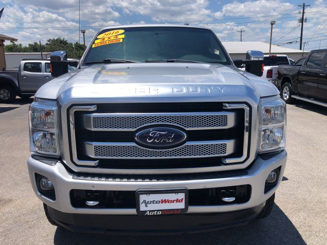 2016 Ford F250SD Platinum 4X4 in Marble Falls, TX 78654