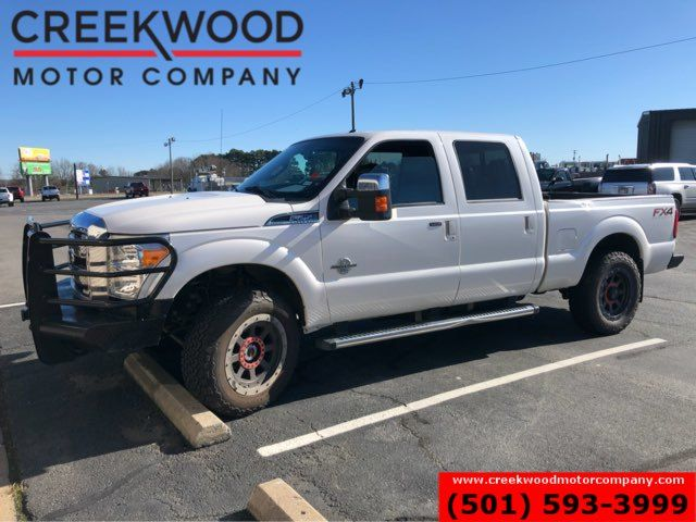 2016 Ford Super Duty F-250 Lariat 4x4 FX4 Diesel White Nav Roof 20s 1 Owner