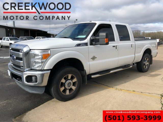 2016 Ford Super Duty F-250 Lariat 4x4 Diesel White New Tires Chrome CLEAN