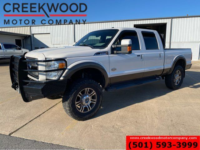 2016 Ford Super Duty F-250 King Ranch 4x4 Powerstroke Diesel Lifted New Tires
