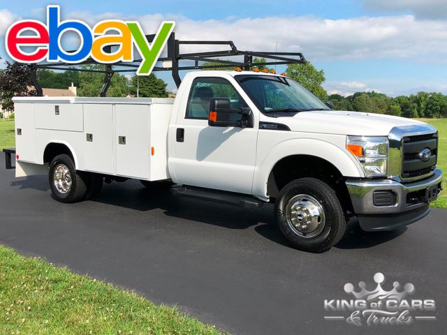 2016 Ford F350 4x4 Knapheide 10' UTILITY 55K MILES 1-OWNER 6.2L V8 in Woodbury, New Jersey 08096