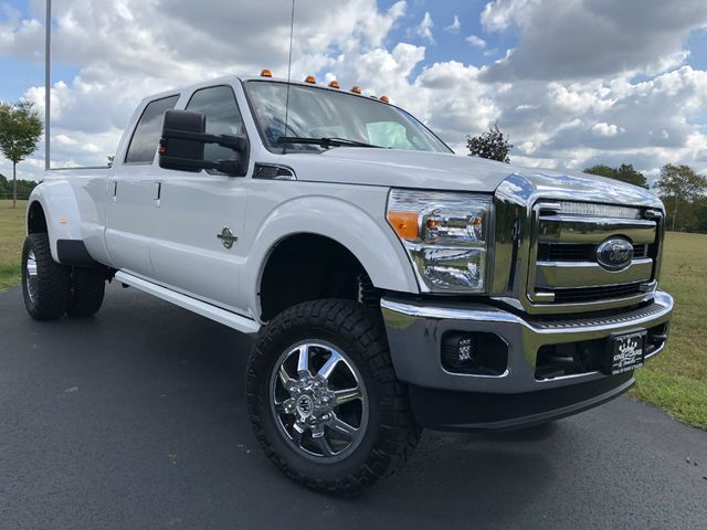 2016 Ford F350 Crew Cab DUALLY LARIAT LIFTED 6.7L DIESEL 45K MILES 1-OWNER 4X4