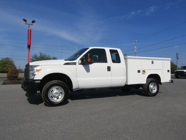 2016 Ford F350 Extended Cab 4x4 with 8' Reading Utility Bed