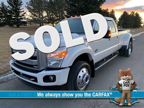 2016 Ford F450 4WD Crew Cab Platinum DRW in Great Falls, MT