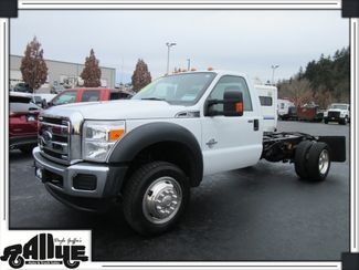 2016 Ford F450 4WD Chassis Cab 6.7L Diesel in Burlington WA, 98233