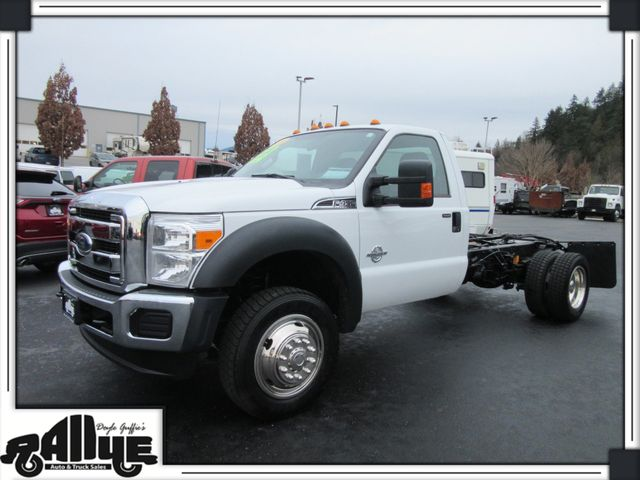 2016 Ford F450 4WD Chassis Cab 6.7L Diesel