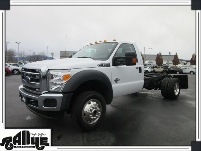 2016 Ford F450 XLT 4WD Chassis Cab 6.7L Diesel