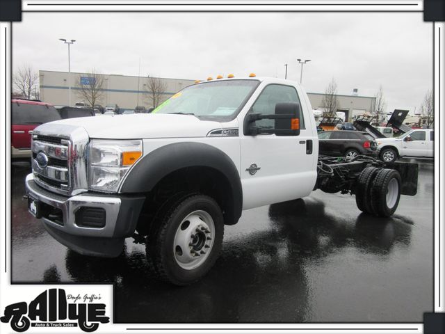 2016 Ford F450 XLT Chassis 4WD 6.7L Diesel