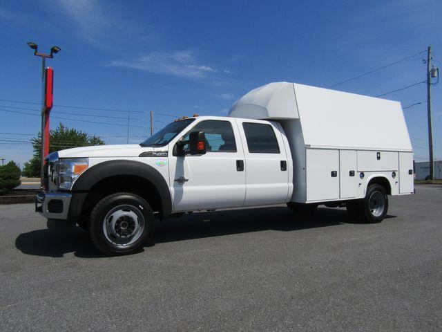 2016 Ford F450 Crew Cab 11' Enclosed Utility 4x4 Diesel