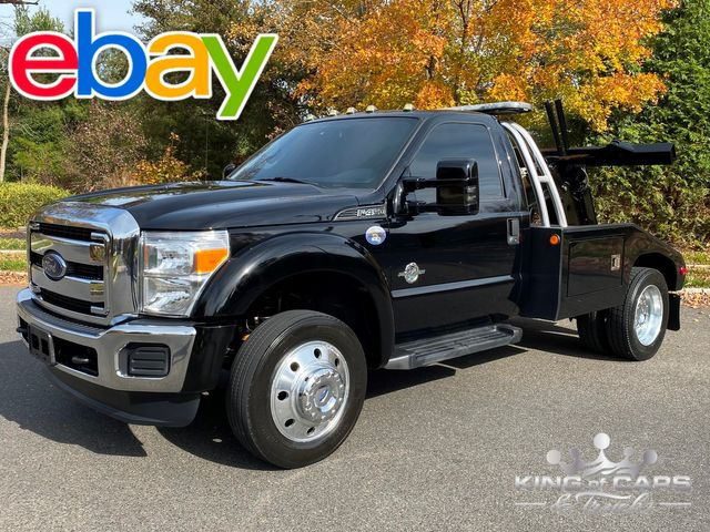 2016 Ford F450 Powerstroke DIESEL SELF LOADER WRECKER WOW LOW MILES