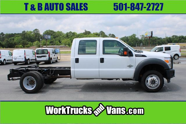 2016 Ford F450 SUPERDUTY XL CREW CAB 4X4 FLATBED in Bryant, AR 72022