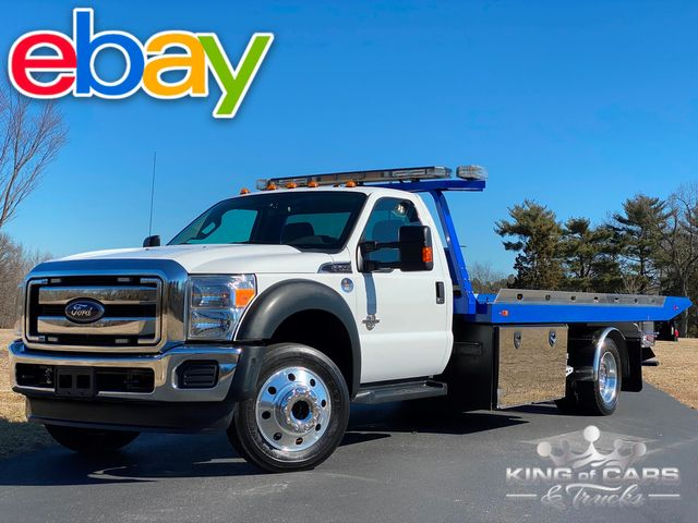 2016 Ford F550 Diesel 6.7l XLT CHEVRON STATIONARY HEADRACK ROLLBACK TOW TRUCK in Woodbury, New Jersey 08093