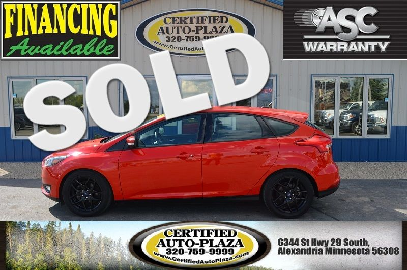 2016 Ford Focus SE in Alexandria Minnesota