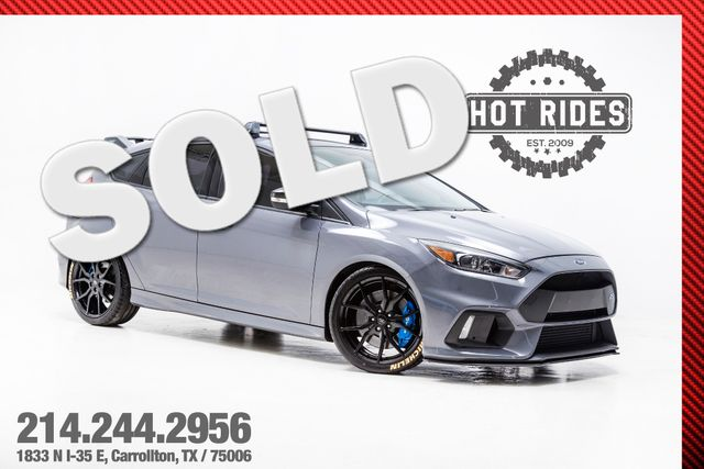 2016 Ford Focus RS With Many Upgrades