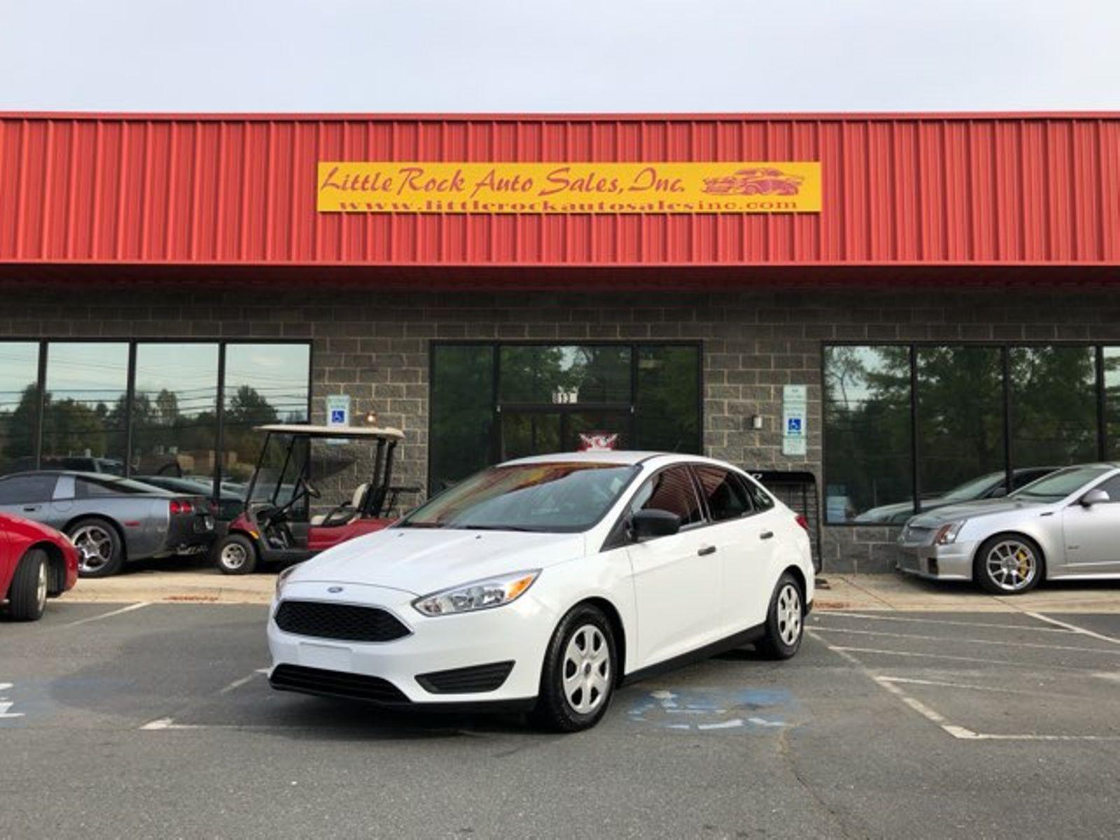 2016 Ford Focus S City Nc Little Rock Auto Sales Inc