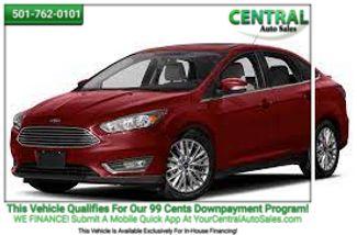2016 Ford Focus Titanium | Hot Springs, AR | Central Auto Sales in Hot Springs AR