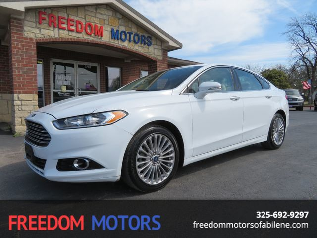 2016 Ford Fusion Titanium | Abilene, Texas | Freedom Motors  in Abilene,Tx Texas