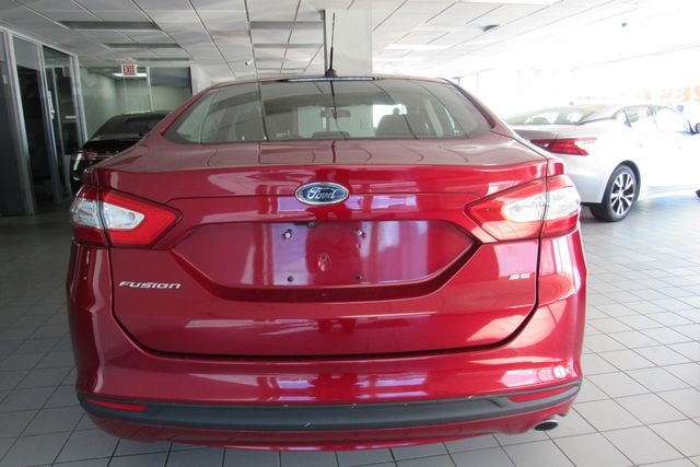 2016 Ford Fusion SE W/ BACK UP CAM Chicago, Illinois 5